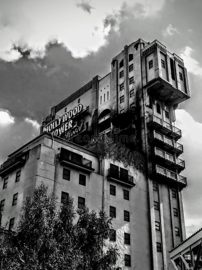 Hollywood-Turm, Disneyland Paris lizenzfreies stockbild