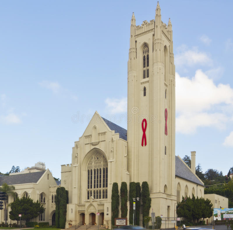 Hollywood United Methodist Church Editorial Stock Image Image Of