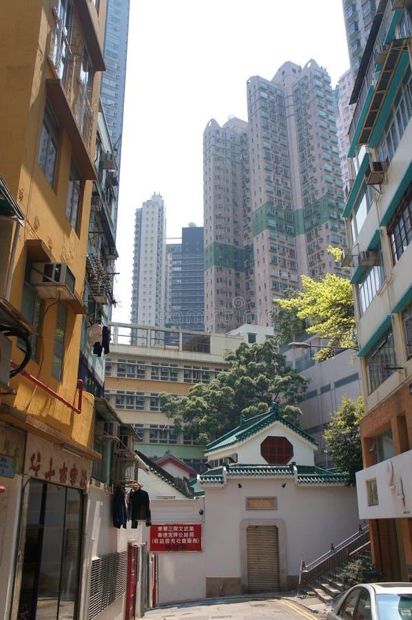 Hollywood väg, Hong Kong royaltyfri foto