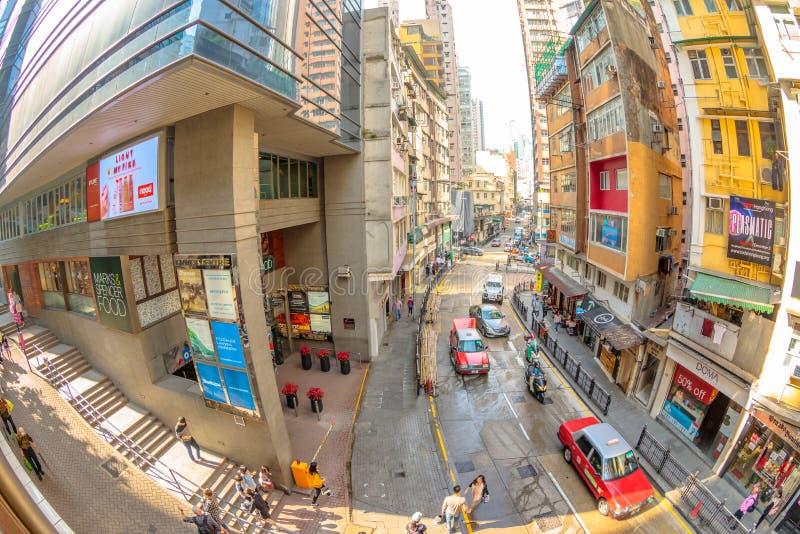 Hollywood väg Hong Kong royaltyfri fotografi
