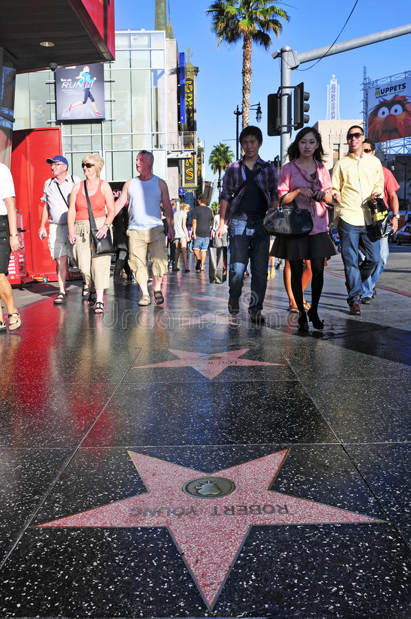 Download Hollywood Walk Of Fame In Hollywood Editorial Photo - Image: 24627406