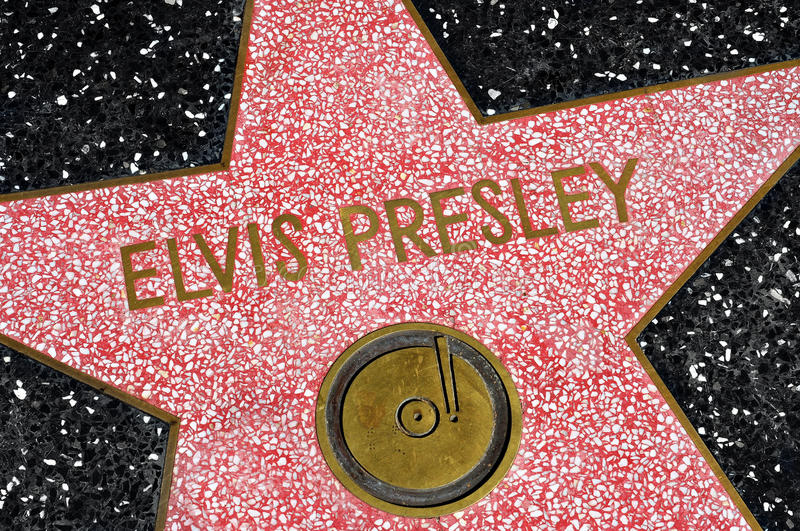 Hollywood Walk of Fame, Los Angeles, United States royalty free stock photo