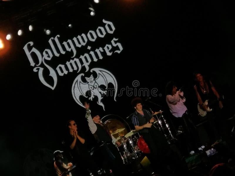 Hollywood wampirów koncert obrazy stock