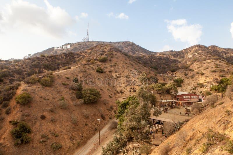 Hollywood wzgórza zdjęcie royalty free