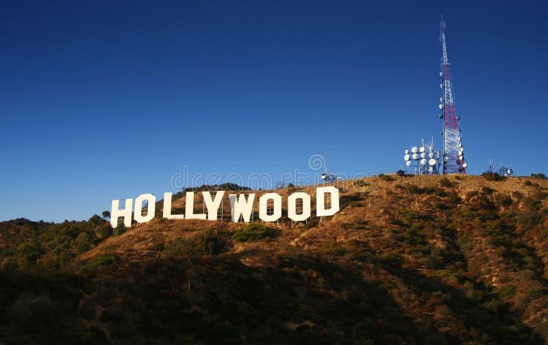 Hollywood-Zeichen lizenzfreie stockbilder