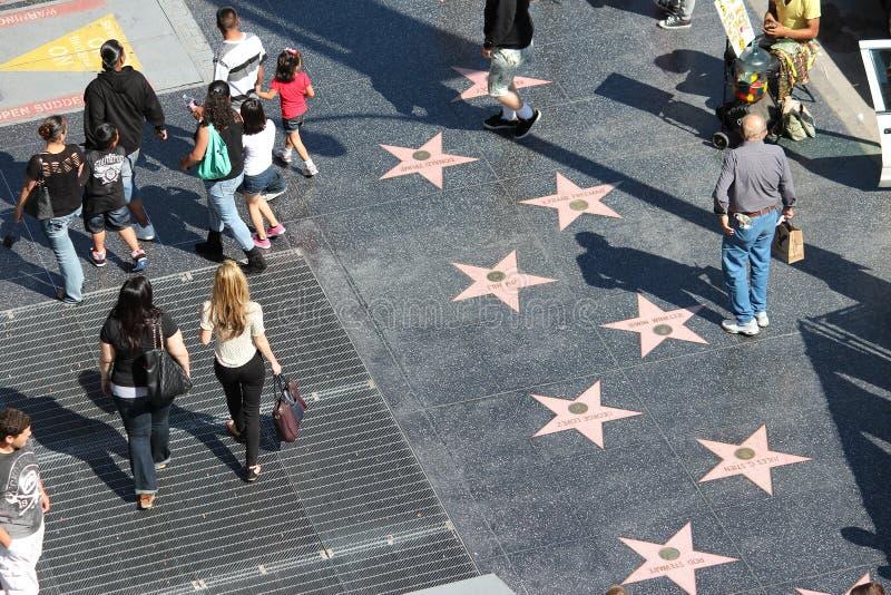 Hollywoodsterren stock fotografie