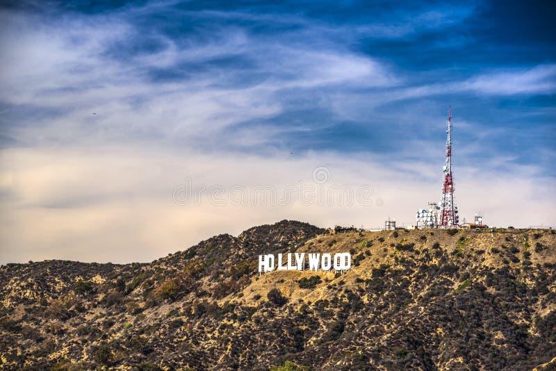 Hollywoodteken stock foto