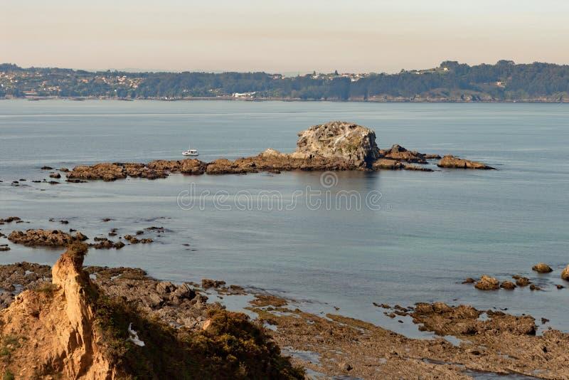 Holme på kusten av Spanien arkivfoton