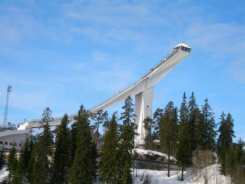 Holmenkollen Oslo images libres de droits