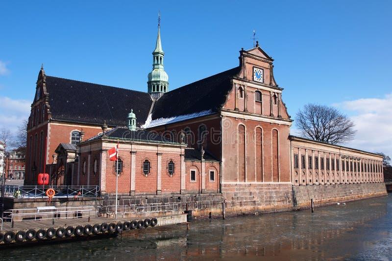 Церковь Holmens, Копенгаген стоковое изображение rf
