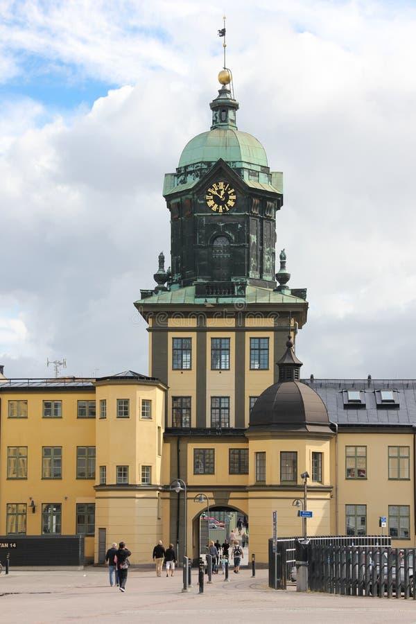 Holmentornet. Norrkoping. Schweden lizenzfreies stockbild
