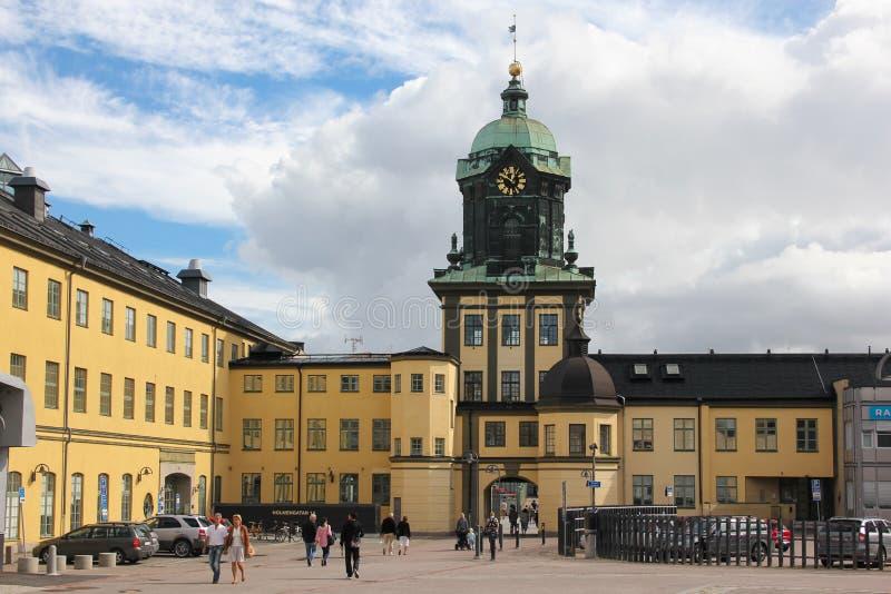 Holmentornet. Norrkoping. Sweden royalty free stock photos