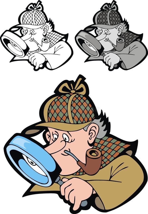 Holmes de Sherlock illustration libre de droits