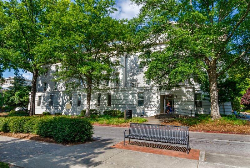 Holmes-Hunter Academic Building en la universidad de Georgia fotografía de archivo