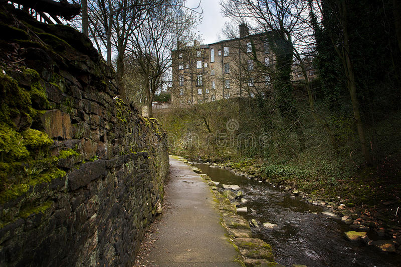 Holmfirth Stream royalty free stock images