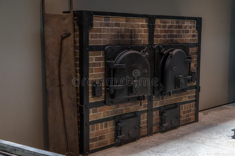Holocaust Crematory royalty free stock photo