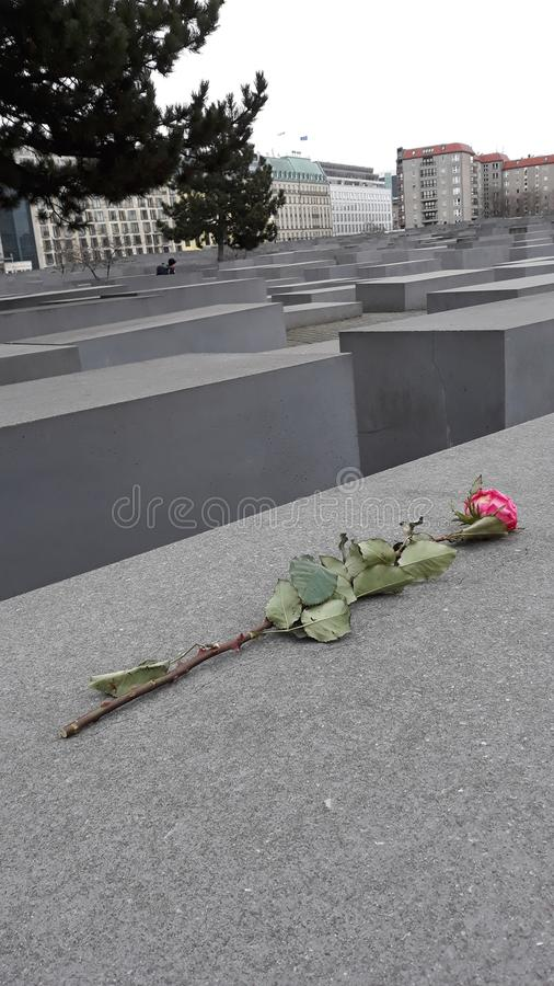 Holocaust-Denkmal lizenzfreie stockfotos