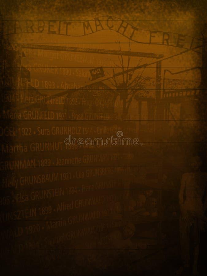 Holocaust-Erinnerungshintergrund, sauber lizenzfreie abbildung