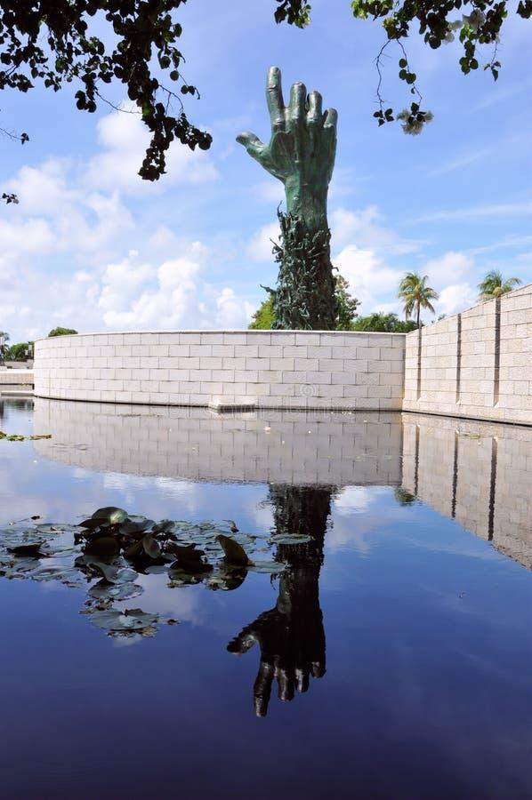 Holocaust Memorial. Image of the Miami Holocaust Memorial stock image