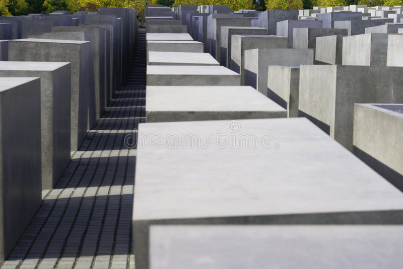 Holocaust memorial royalty free stock photos