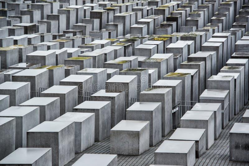 Holocaust Memorial. In Berlin, Germany stock images
