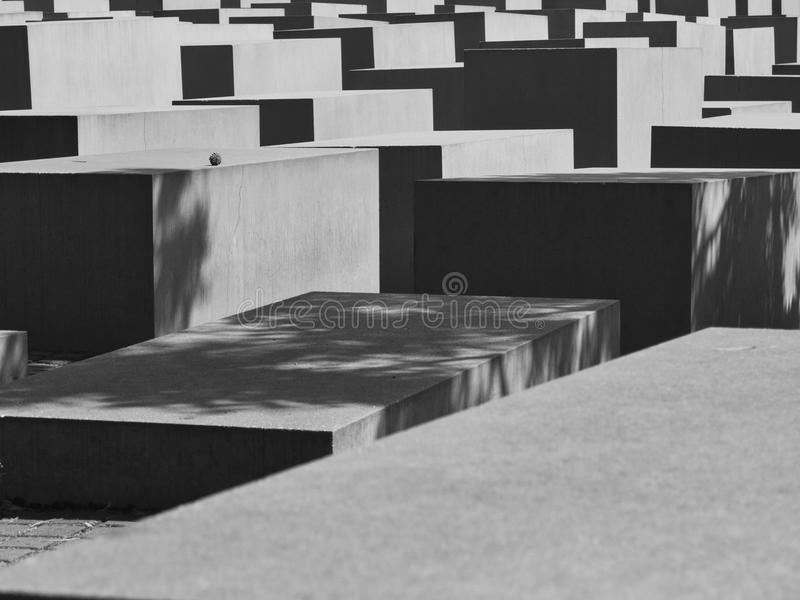 Holocaust Memorial stock photography