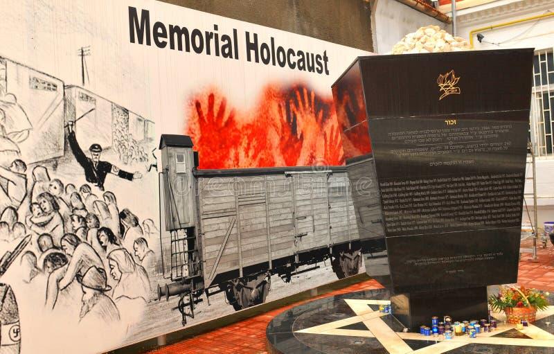 Holocaust Memorial. Brasov, Romania - June 28, 2015: Detail of the Holocaust Memorial in the city centre of Brasov, Romania royalty free stock photography