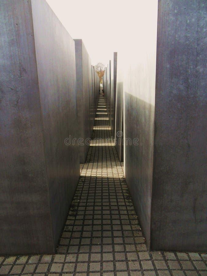 Holocaust Memorial - Interior stock photos