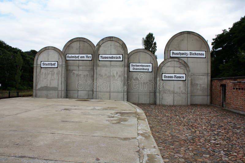 Holocaust memorial in Lodz royalty free stock photos