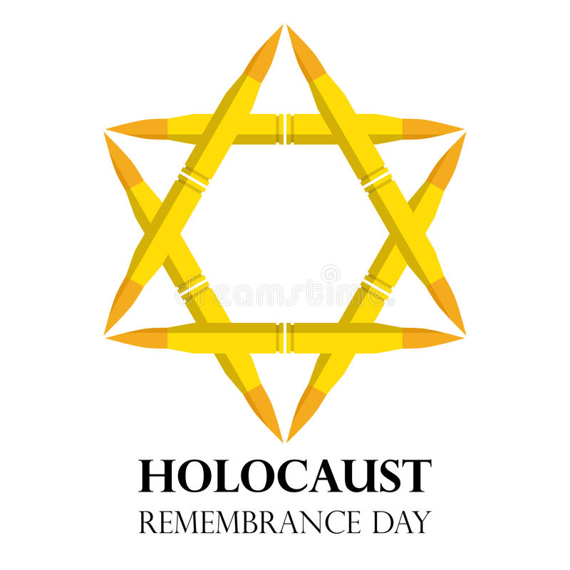 Holocaust Remembrance Day May 5 Jewish Star Made From Rifle