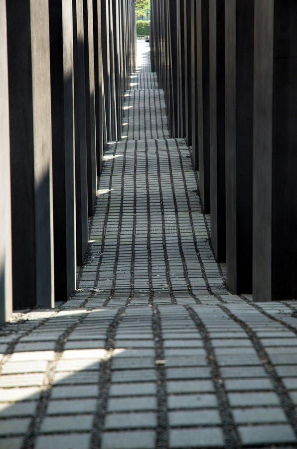 Holocaustdenkmal lizenzfreie stockbilder
