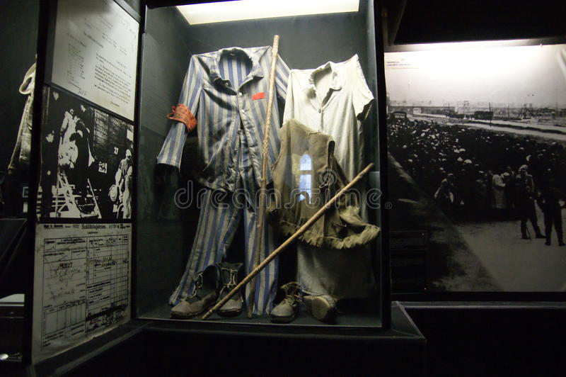 Holocauste uniforme image libre de droits