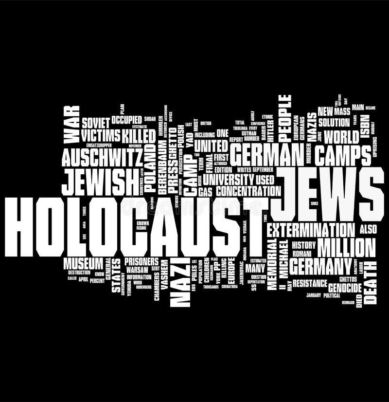Holocausto ilustração do vetor