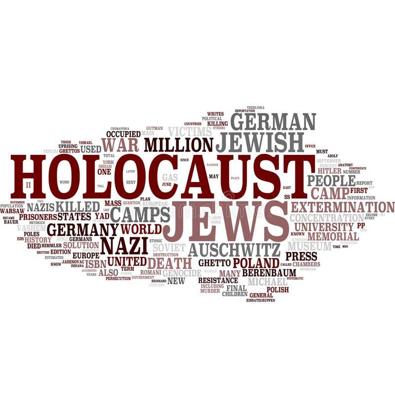 Holocausto - judeus ilustração do vetor
