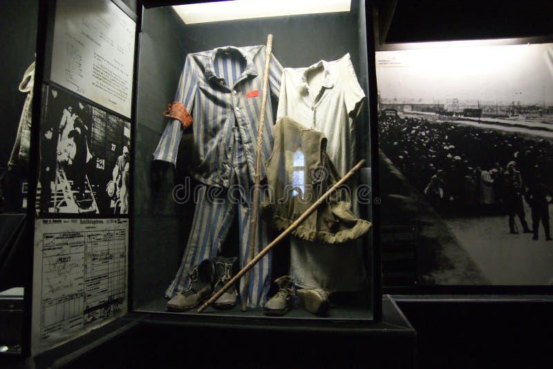 Holocausto uniforme imagen de archivo libre de regalías