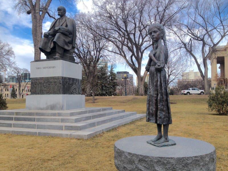 Holodomor ludobójstwa zabytek obrazy royalty free
