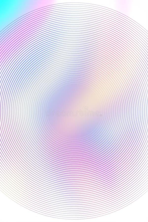 Holograficznego t?a holograma gradientowa tekstura pastel neonowy ilustracji