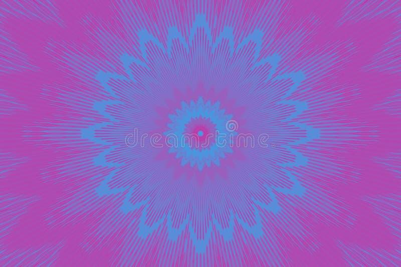 Holograficzny deseniowy neonowy kwiecisty kwiat grafit royalty ilustracja