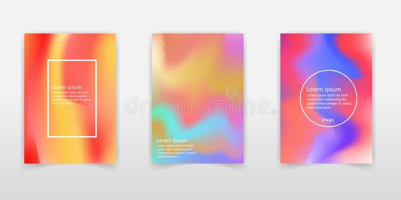 Holografische Achtergrond Holo behandelt sparkly Abstracte zachte pastelkleur stock illustratie