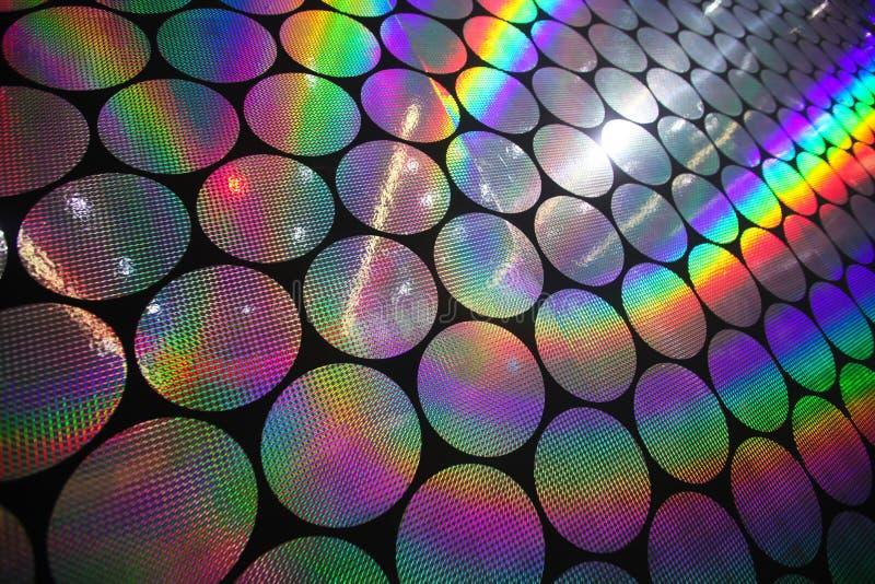 Holografische patronen stock foto's