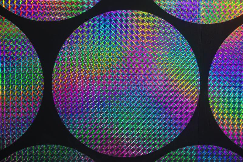 Holografische patronen royalty-vrije stock fotografie