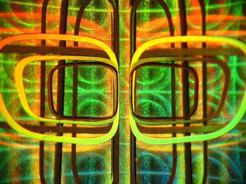 hologram arkivbild