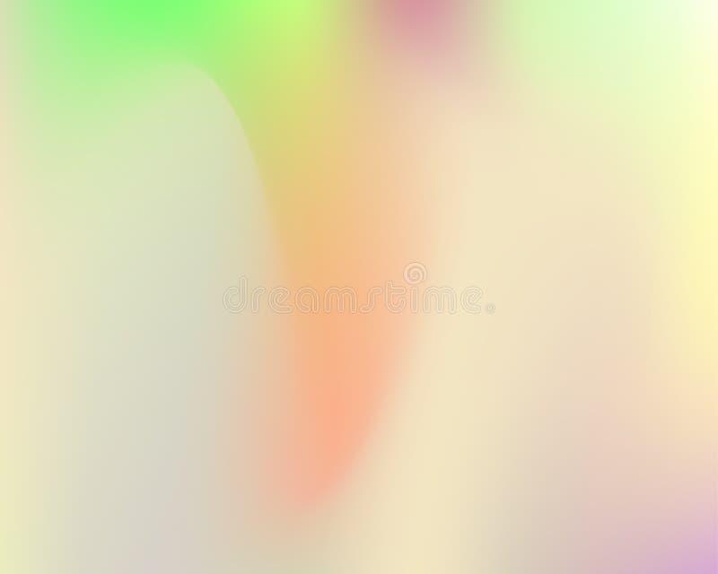 Hologramme tramé d'arc-en-ciel illustration stock