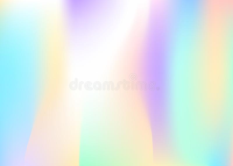 Holographic abstract background. vector illustration