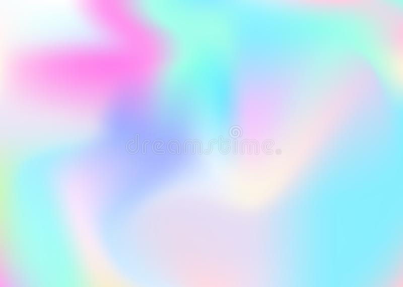 Holographic abstract background. royalty free illustration
