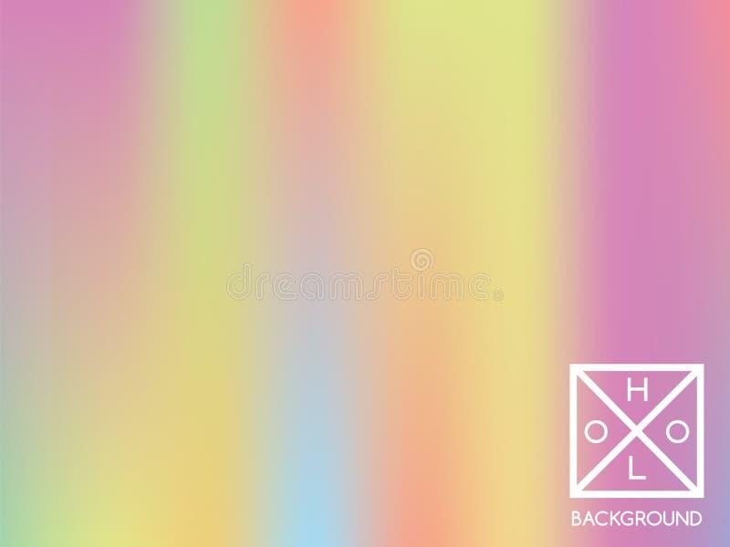 holographic bakgrund Holo sparkly räkning royaltyfri illustrationer