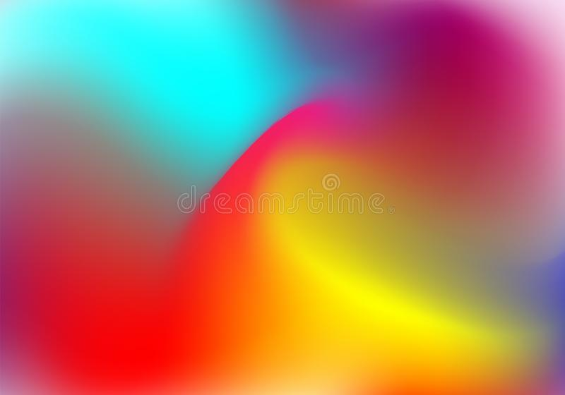 Holographic foil backgrounds set. Plastic gradient backdrop with holographic foil. 90s, 80s retro style. Pearlescent graphic royalty free illustration
