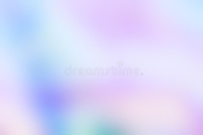 Holographic foil blurred abstract background in pastel neon trendy color design. For creative projects: Wallpapers, Covers, Flyers, Posters, Brochures, Wedding stock photo