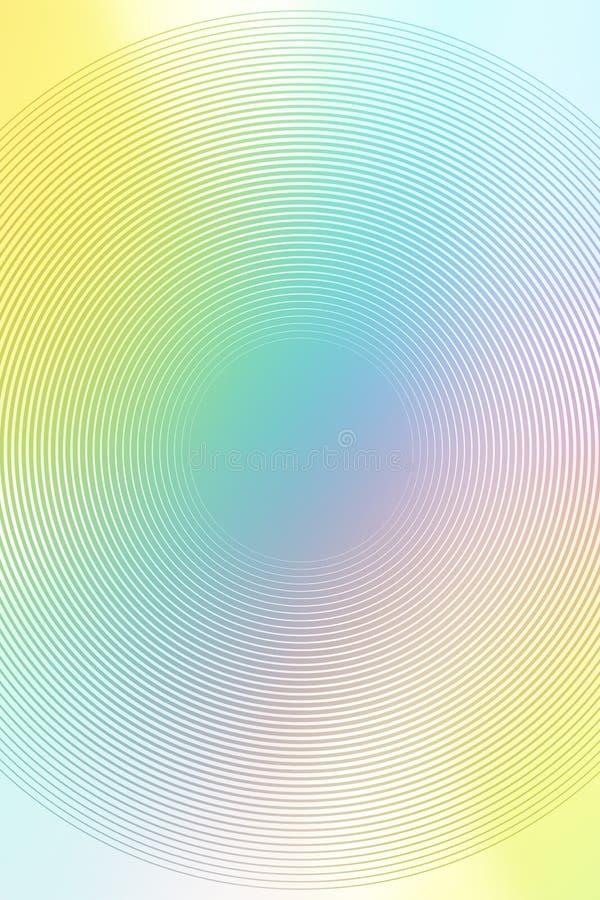 Holographic textur f?r bakgrundslutninghologram designrosa f?rger stock illustrationer