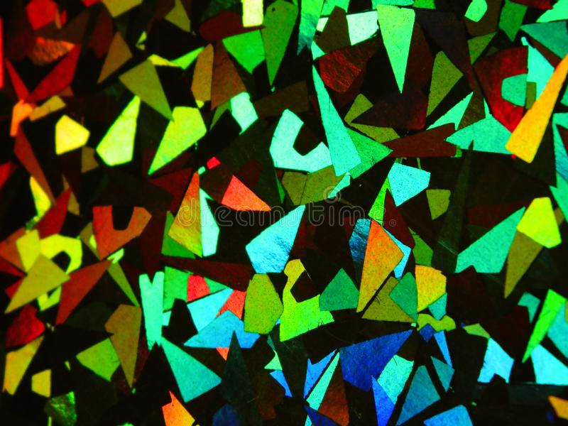 Holographic abstract colorful rainbow background royalty free stock photos